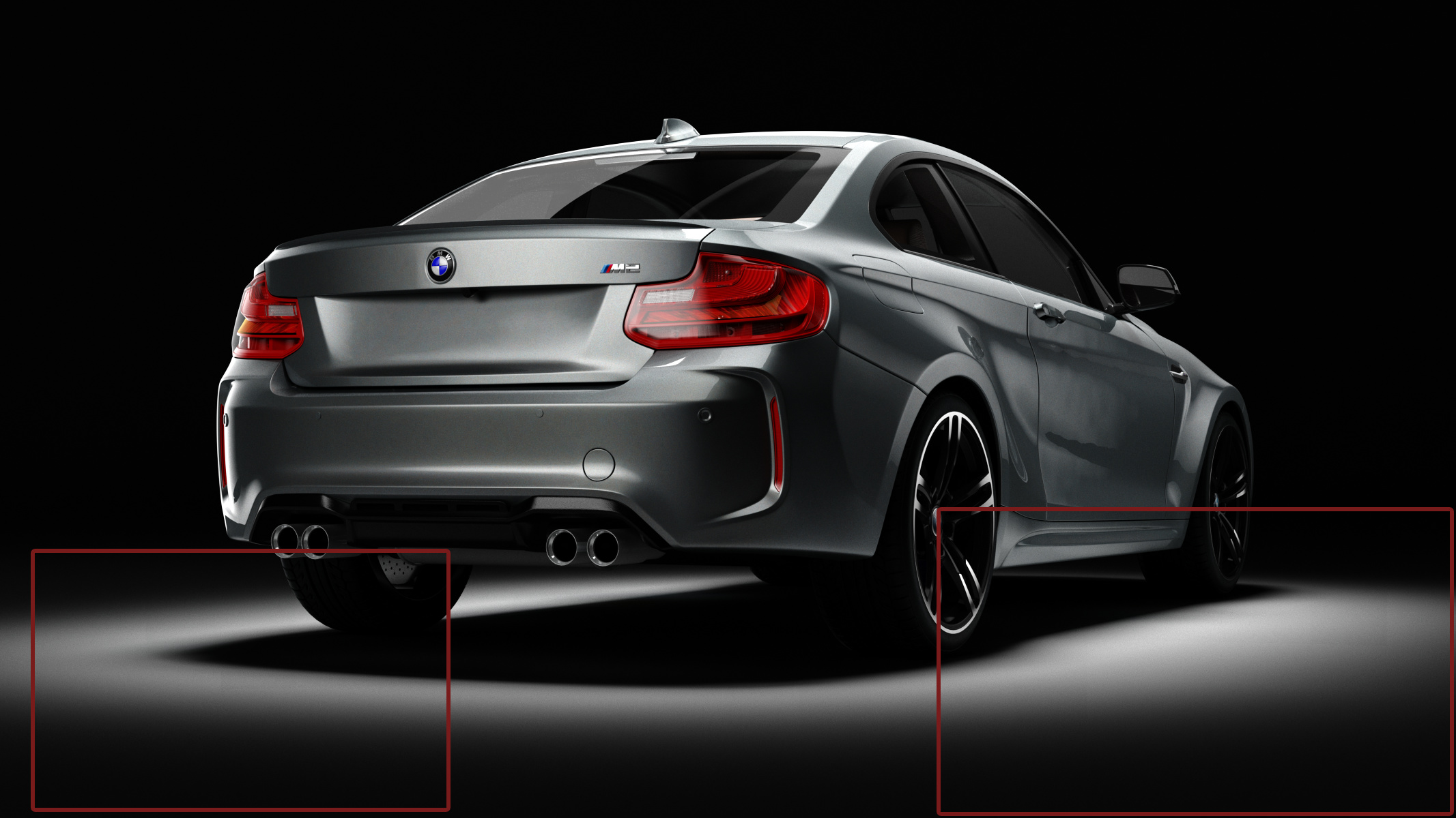 BMW_M2_Coupe_2016_rear_test_marks