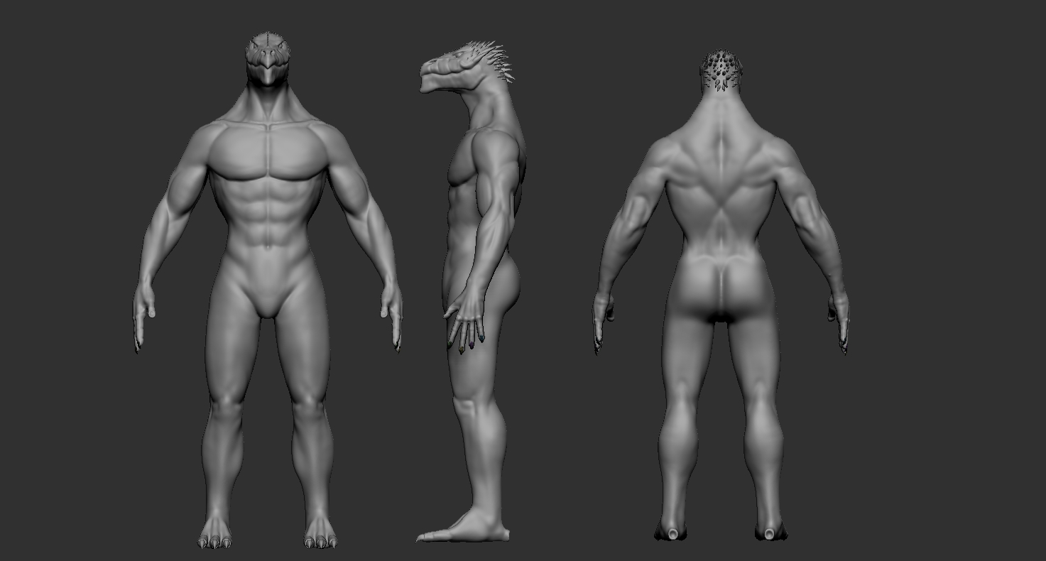 DragonCreaturePoses02